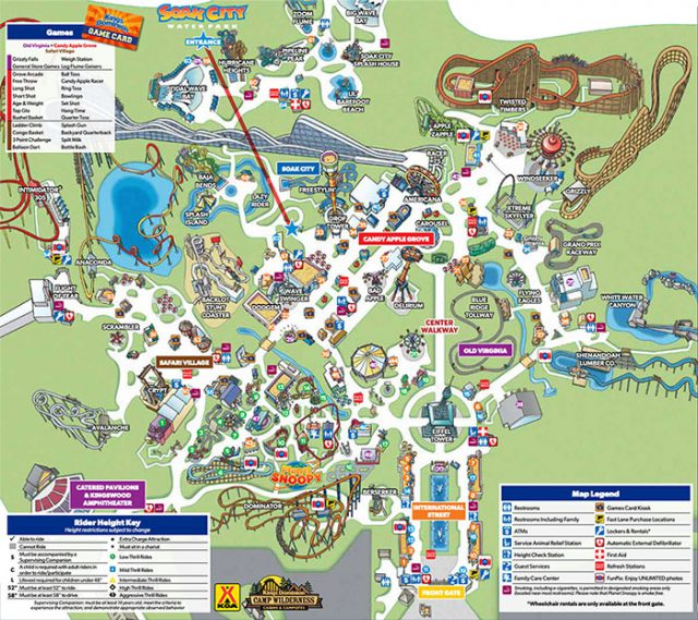 Kings dominion park map 2020 from kingsdominion 1
