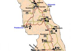 Kruger National Park Map: Kruger national park map from sanparks 1
