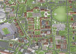 Lsu Campus Map: Lsu campus map from wafb 1