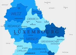 Luxembourg Map: Luxembourg map from tripsavvy 1
