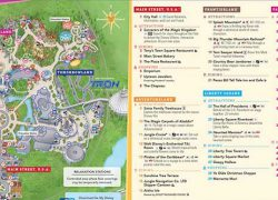 Magic Kingdom Map 2020: Magic kingdom map 2020 from wdwinfo 1