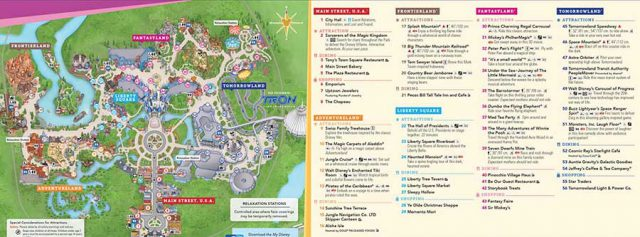 Magic kingdom map 2020 from wdwinfo 1