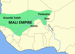 Mali Empire Map: Mali empire map from commons 1
