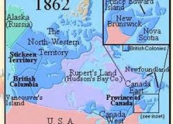 Map of canada 1862 from pinterest 6