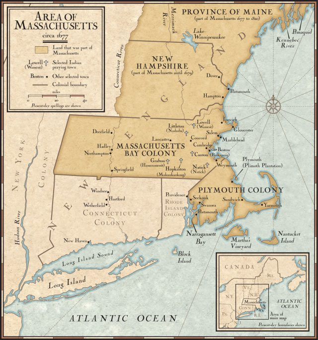 Map of new england colonies from nationalgeographic 1