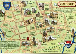 Map Of Oxford: Map of oxford from pinterest 1