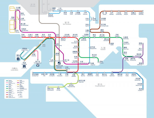 Mtr map from mtr 1