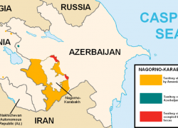 Nagorno Karabakh Map: Nagorno karabakh map from blogs 1
