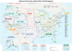 National Park Map: National park map from nps 2