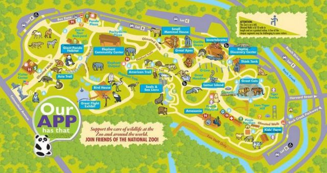 National Zoo Map