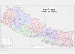 Nepal Political Map: Nepal political map from thewire 1