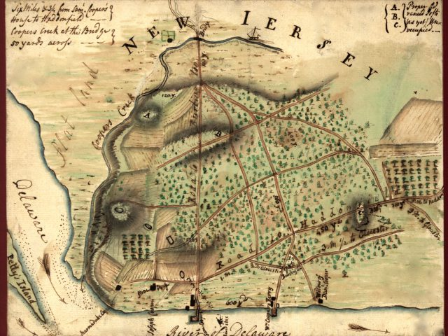 New Jersey Colony Map