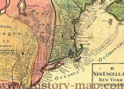 New York Colony Map: New york colony map from historycentral 1