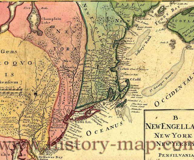 New york colony map from historycentral 1