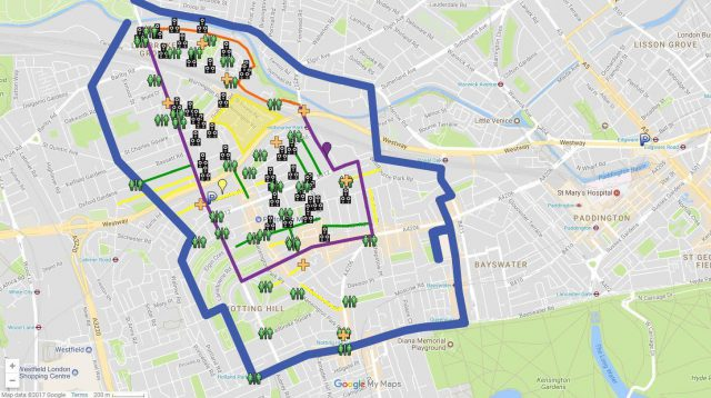 Notting Hill Carnival Map 2020