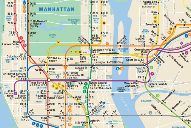 Nyc subway map from nytimes 2