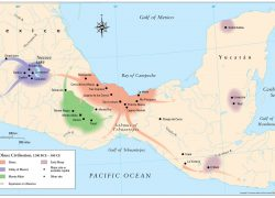 Olmec Map: Olmec map from themaparchive 1