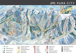 Park City Map: Park city map from parkcitymountain 1