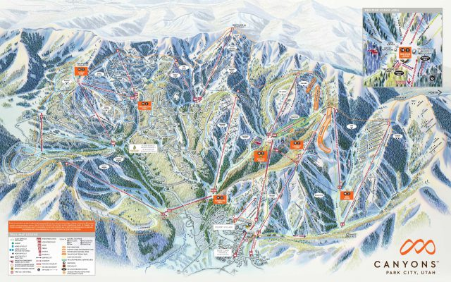 Park City Utah Trail Map