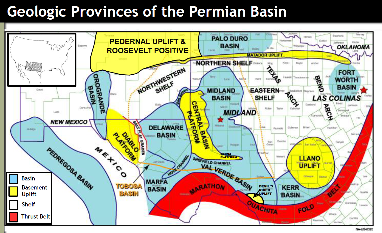 Permian Basin Map From Shaleexperts 1