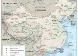 Physical Map Of Ancient China: Physical map of ancient china from ducksters 1