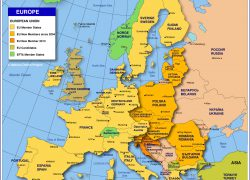 Political map of europe from nationsonline 4
