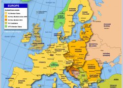 Political map of europe from nationsonline 8