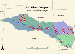 Red river texas map from owrb 6