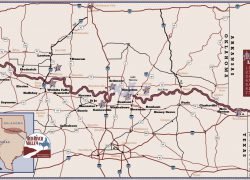 Red river texas map from redrivervalley 4