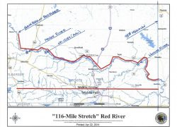 Red river texas map from texastribune 10