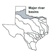Red river texas map from twdb 3