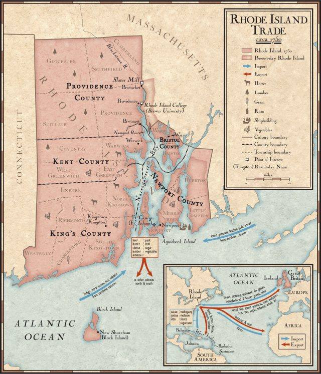 Rhode island colony map from nationalgeographic 1