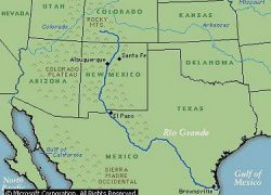 Rio grande river map from pinterest 10