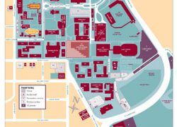 Santa Clara University Map: Santa clara university map from mappery 2