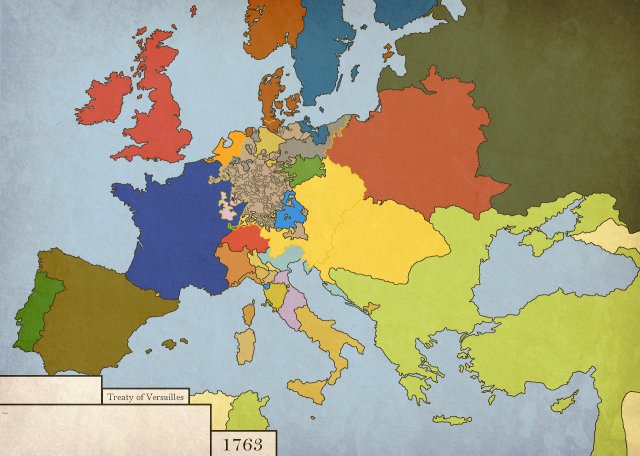 Seven Years War Map
