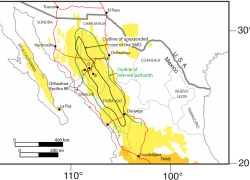 Sierra madre occidental map from largeigneousprovinces 7