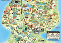 Singapore Zoo Map: Singapore zoo map from pinterest 1