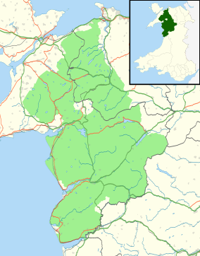 Snowdonia national park map from en 1