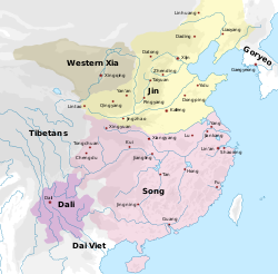 Song Dynasty Map