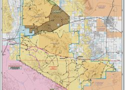 Sonoran desert map from blm 9