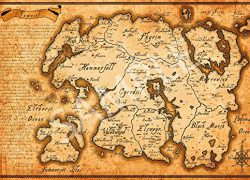 Tamriel map from amazon 5