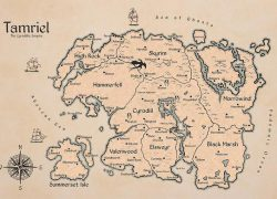 Tamriel map from etsy 10