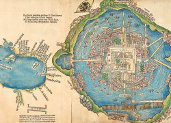 Tenochtitlan Map: Tenochtitlan map from historytoday 1
