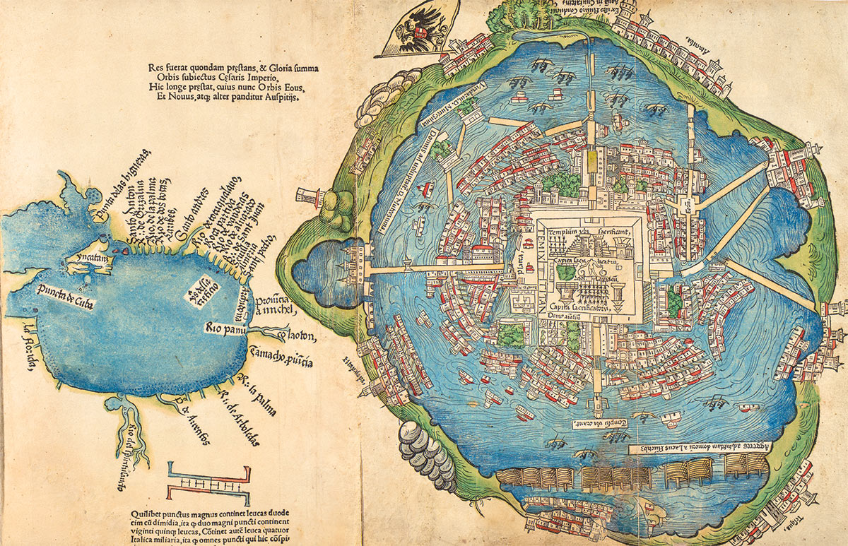 Tenochtitlan Map From Historytoday 1