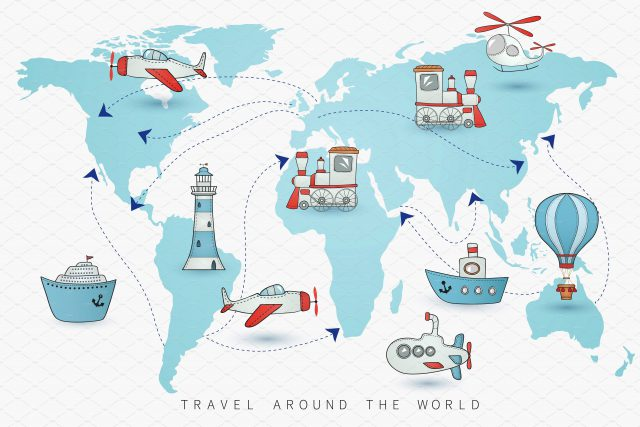 Travel World Map