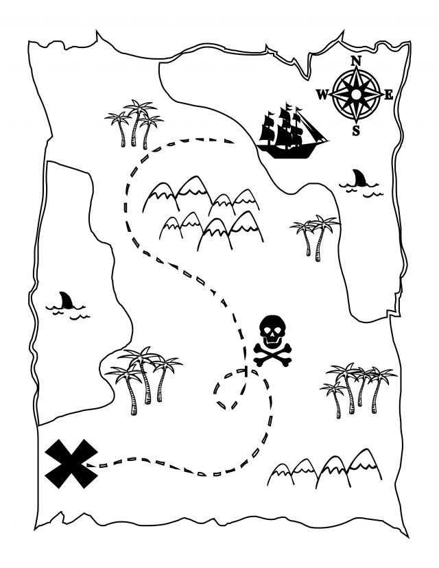 Treasure map for kids from pinterest 1
