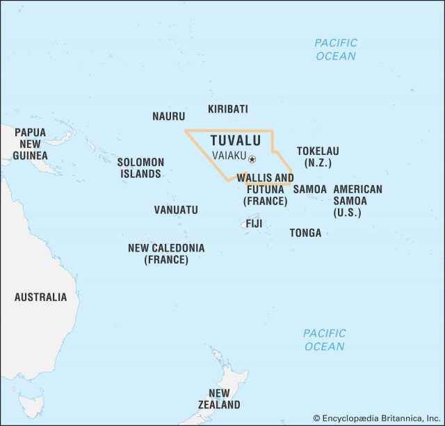 Tuvalu map from britannica 1