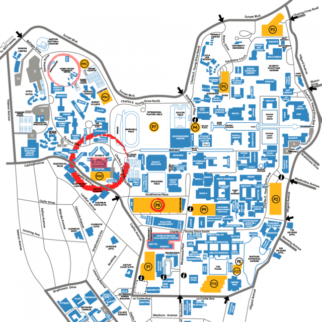 Ucla campus map from oliveviewim 1