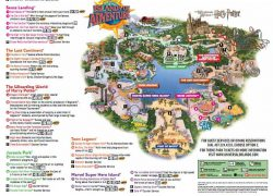 Universal islands of adventure map from pinterest 10