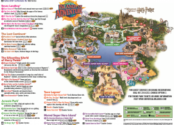 Universal islands of adventure map from pinterest 8
